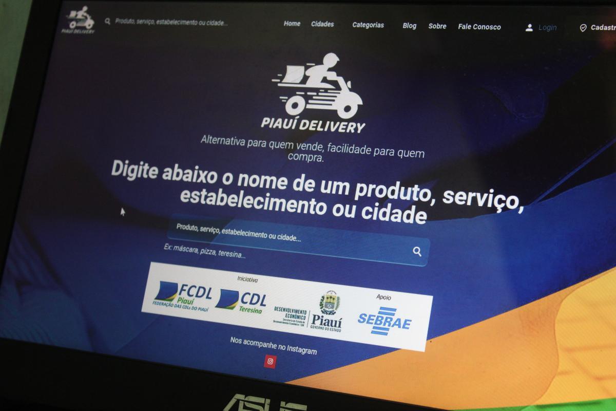 Plataforma Piauí Delivery incentiva economia durante isolamento social