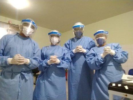 35 profissionais da saúde de Teresina testam positivo para a Covid- 19