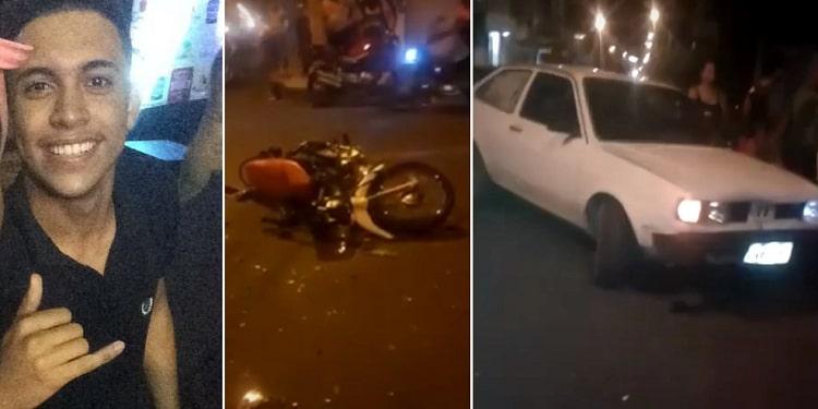 Adolescente morre ao colidir moto contra carro no bairro Promorar