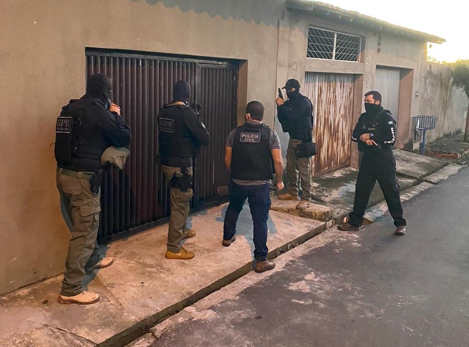 Polícia Civil desarticula grupo que vendia eletrônicos roubados em Teresina