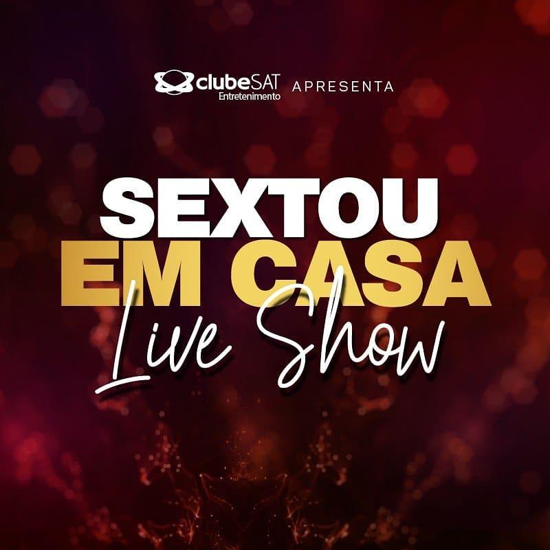 Sextou em Casa: Walkiria Starley e Flávio Moura comandam Live Show