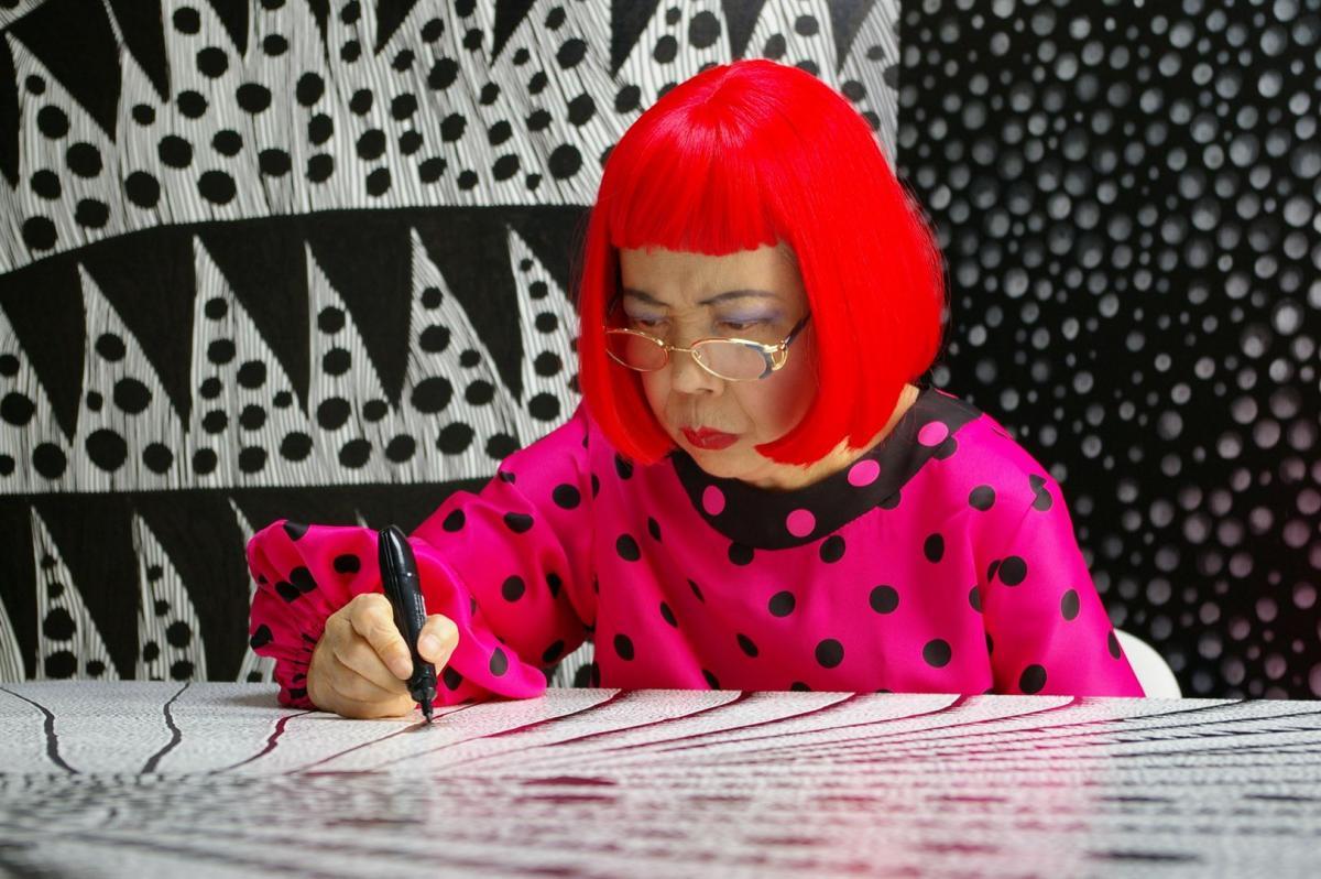 A arte marcante e atual da japonesa Yayoi Kusama