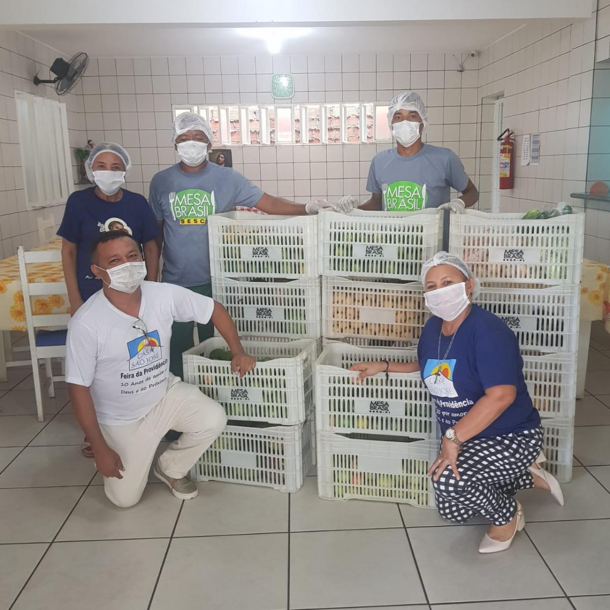 Mesa Brasil Sesc Piauí: conheça o projeto beneficiado pelo Sextou em Casa