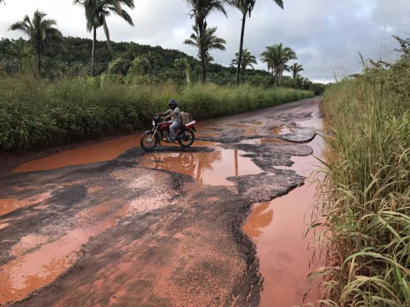 Justiça determina que governo do realize obras na rodovia PI-112