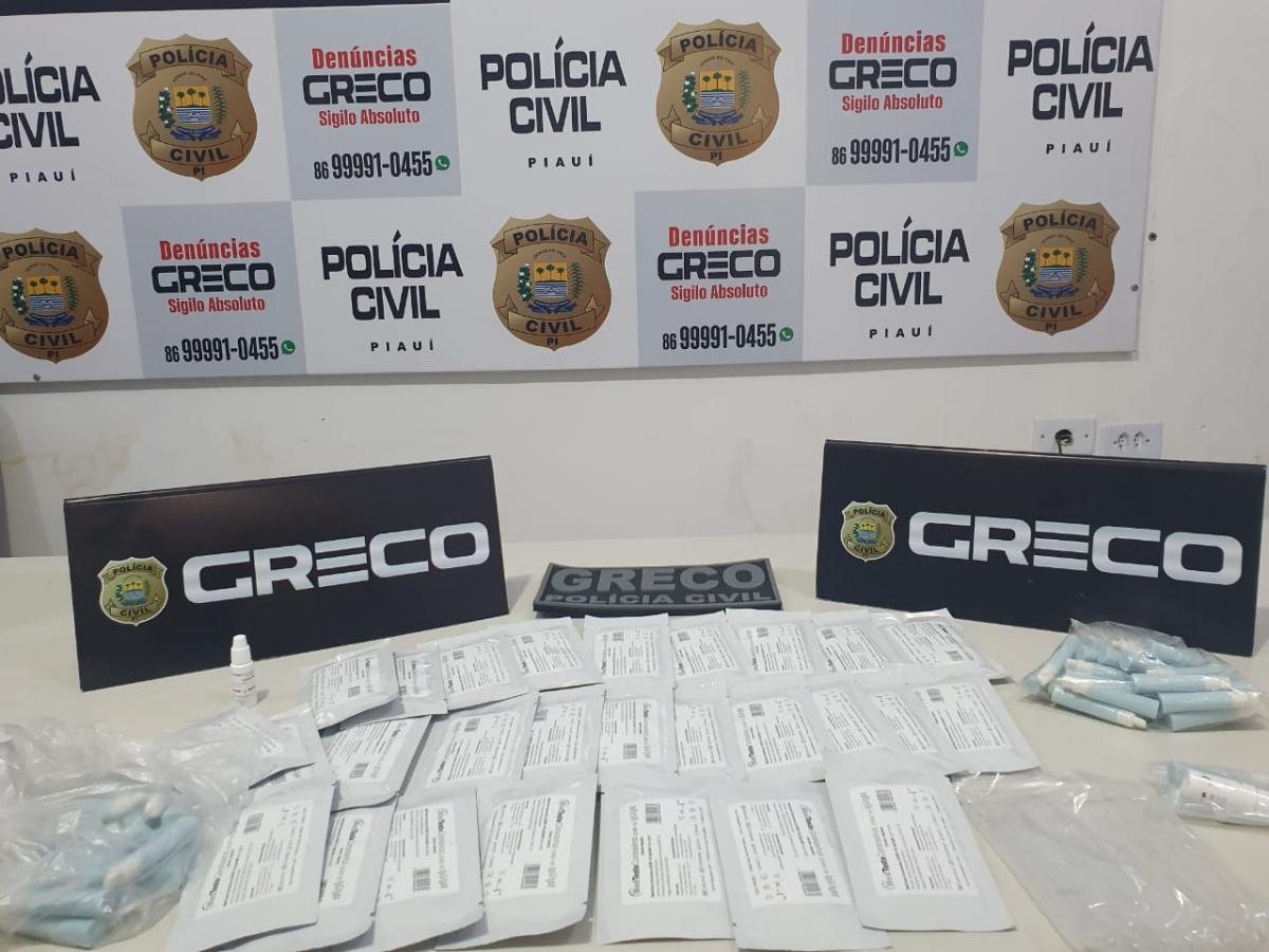 Vigia é preso suspeito de roubar testes da Covid-19