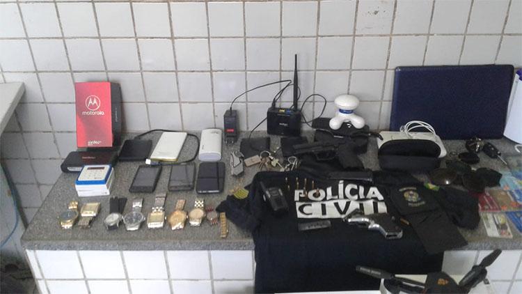 Morador é preso após ser flagrado furtando objetos no próprio condomínio