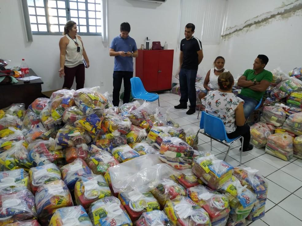 Nova etapa do Teresina Solidária distribuirá mais de 36 mil cestas básicas