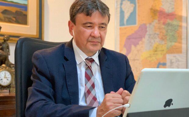 Governador explica plano de reabertura de atividades em reunião com deputados estaduais
