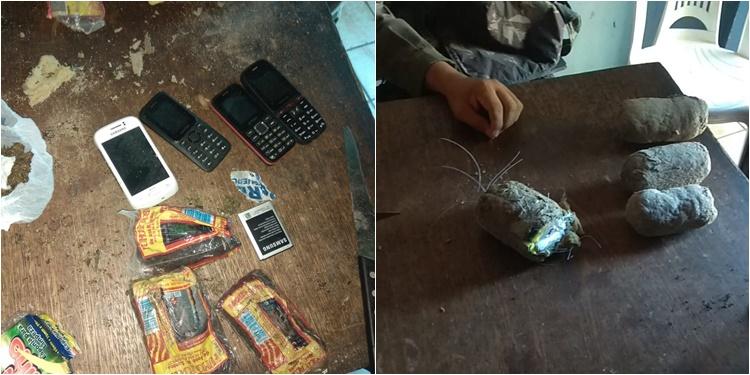 Celulares e drogas são interceptados na Penitenciária de Floriano