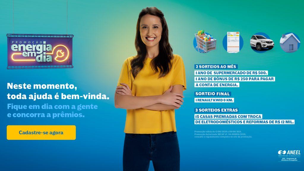 Equatorial lança campanha e premiará consumidores com contas em dia