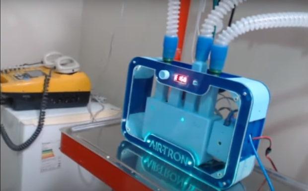 Respirador de baixo custo desenvolvido no Piauí espera registro da Anvisa