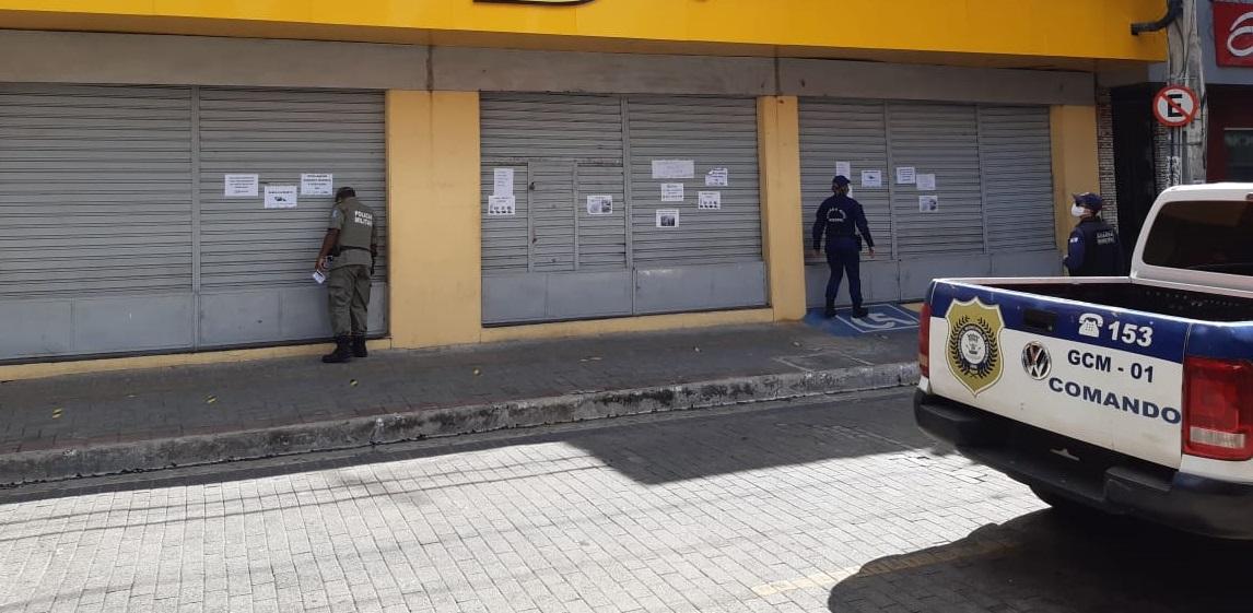 Guarda Municipal fecha mais de 200 estabelecimentos em fiscalização no fim de semana