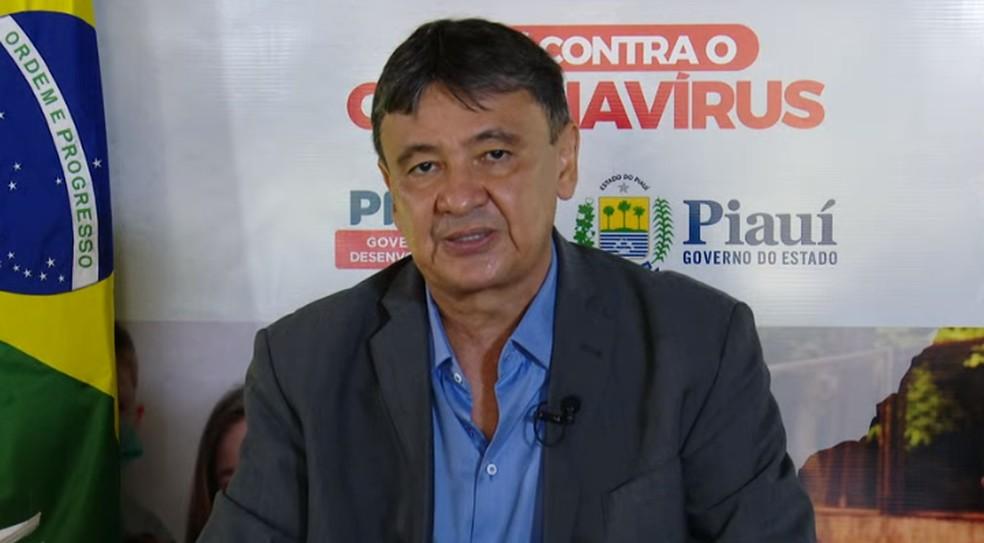 Governador anuncia medidas restritivas que valem a partir de quinta-feira no Piauí
