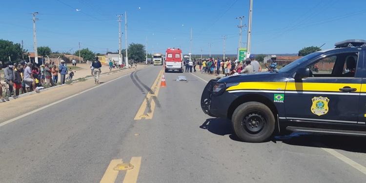 Homem morre atropelado por carreta em Jaicós