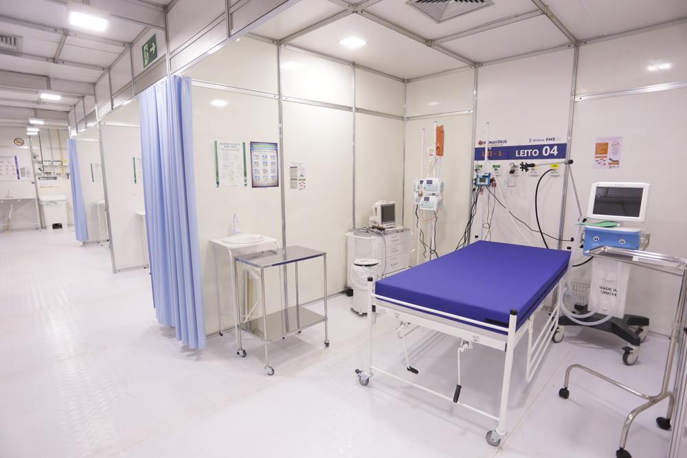 Hospital de Campanha do HUT está pronto para receber pacientes com Covid-19