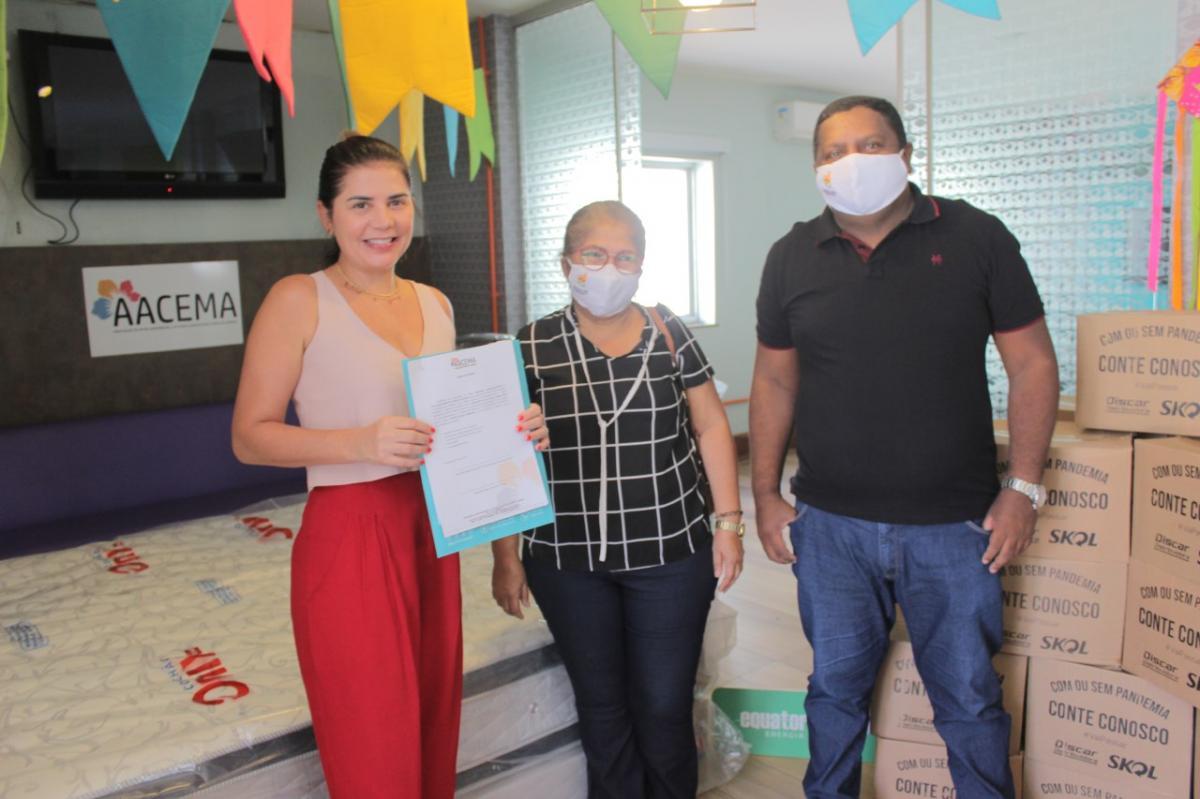 Federação de Quadrilhas recebe doações arrecadadas no TBTzão