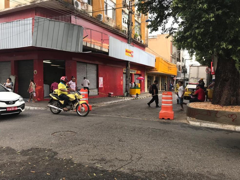 Prefeitura decreta fechamento de ruas do centro de Teresina a partir de segunda-feira