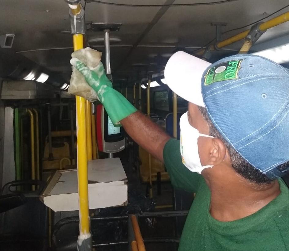 Prefeitura intensifica medidas de segurança e higiene no transporte público