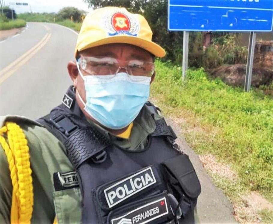 Após um mês internado, sargento morre vítima da Covid-19 em Teresina