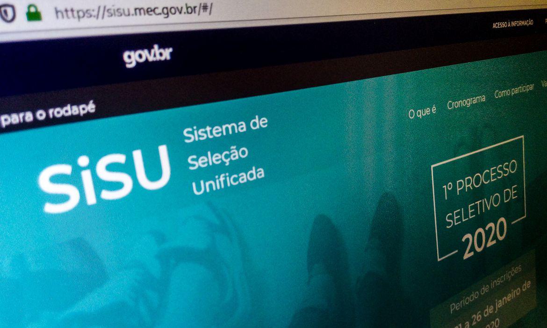 Resultado do Sisu para o segundo semestre de 2020 foi divulgado hoje (14)