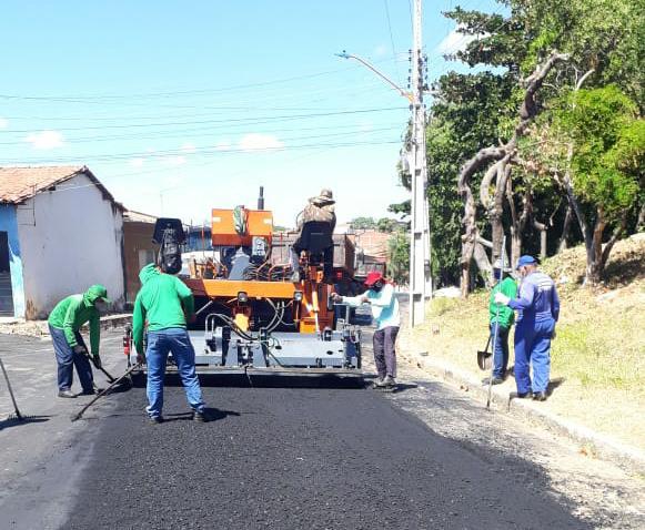 Prefeitura retoma obras em todas as zonas de Teresina