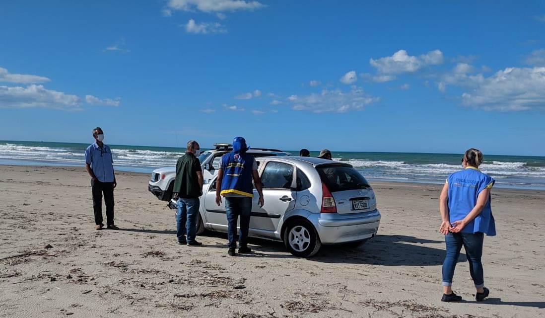 Vigilância Sanitária realiza fiscalização nas praias de Luís Correia