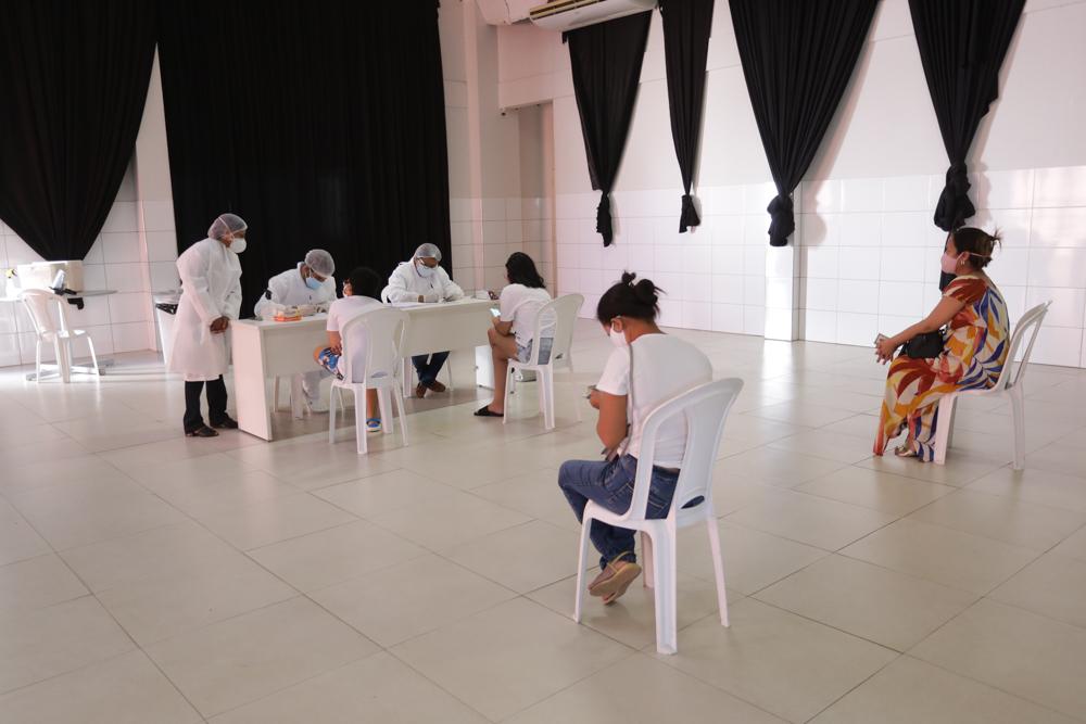 Centros de testagem já fizeram quase 3 mil exames para Covid-19