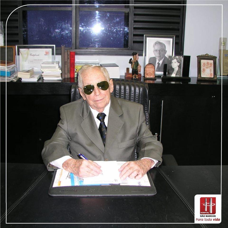 A Força da Notícia: Uma Homenagem para o médico, Doutor Alcenor Barbosa de Almeida