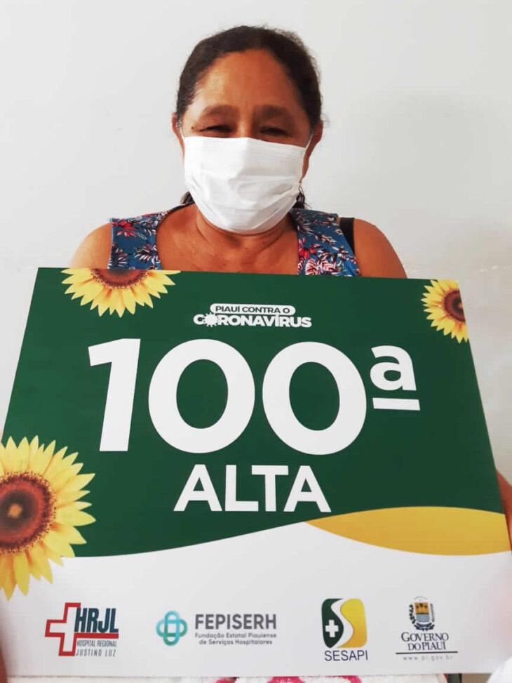 Hospital Justino Luz alcança a marca de 100 pacientes recuperados da Covid-19