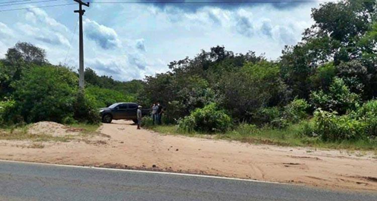 Policia encontra corpo enterrado de 'ponta cabeça' no Norte do Piauí