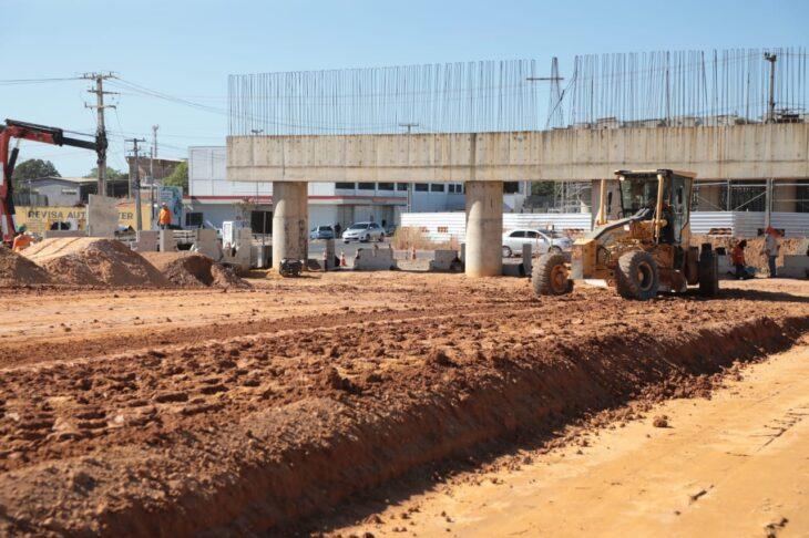 Obra da duplicação da BR-316 com construção de viaduto é retomada