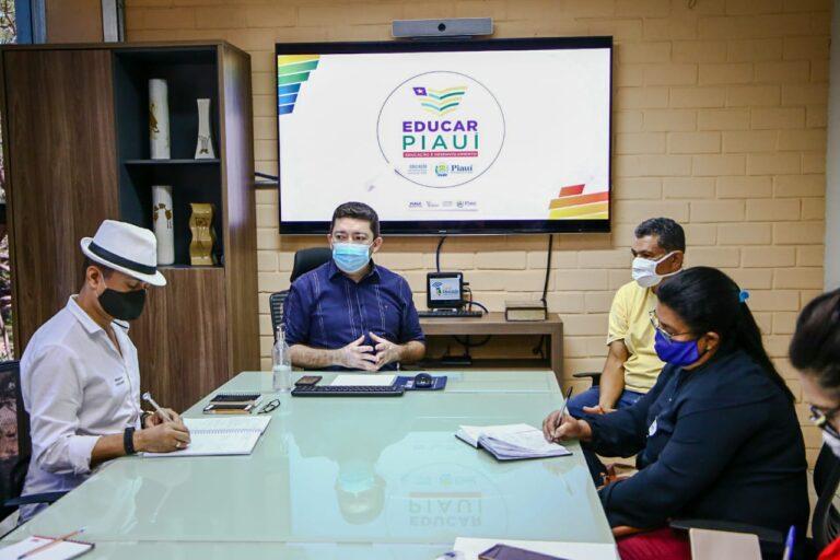 Seduc e Sindicato discutem retorno às aulas presenciais no Piauí