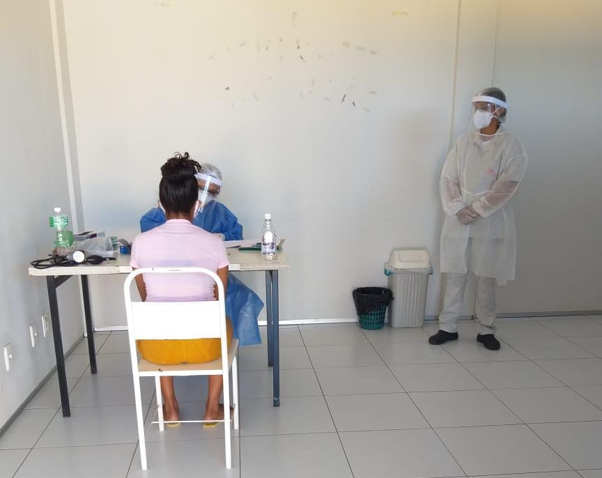 Exame preventivo do colo de útero é retomado nas Unidades Básicas de Saúde