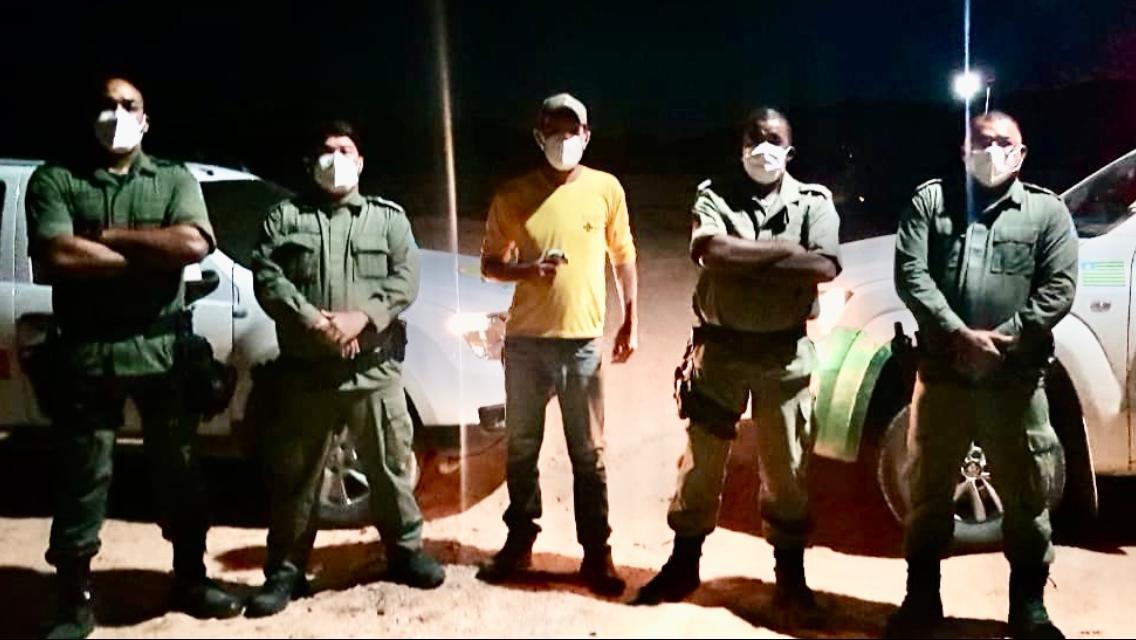 Polícia Militar participa de barreiras sanitárias em municípios do interior