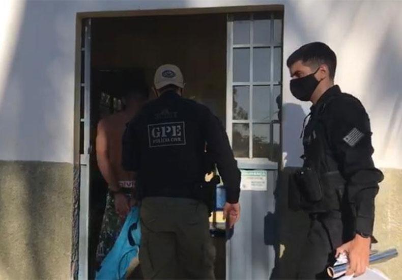 Operação da Polícia prende suspeito de integrar o PCC no interior do Piauí