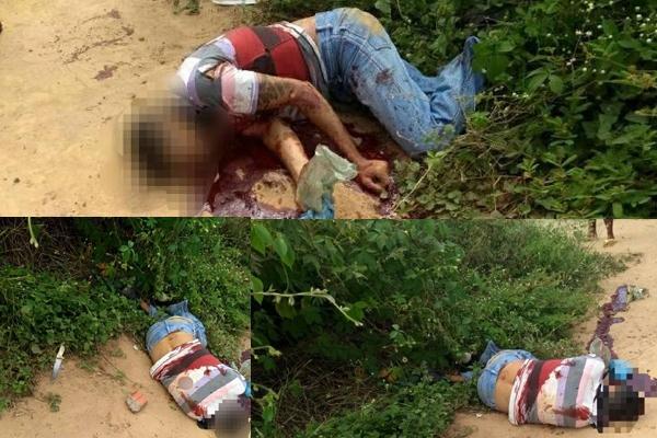 Corpo de homem é encontrado esfaqueado em matagal em Valença