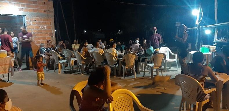 Ação da Polícia encerra festa que promovia aglomerações na zona Norte