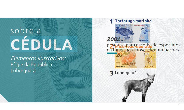 Nova cédula de R$ 200 entra em circulação hoje