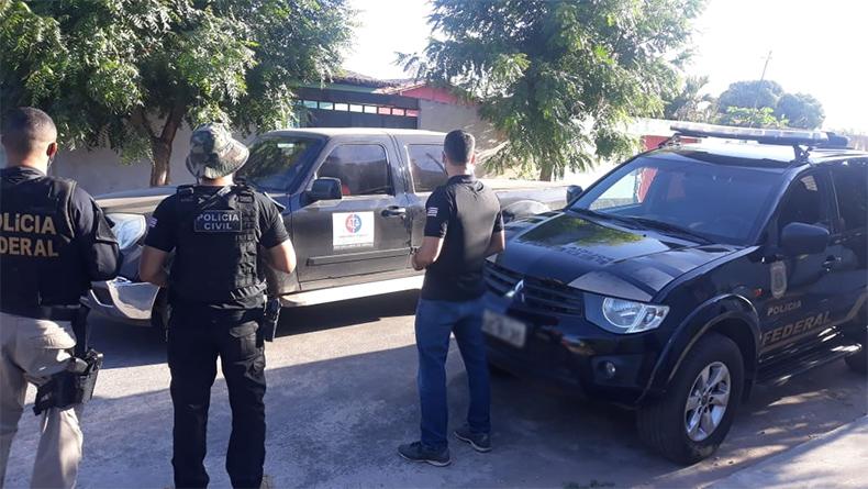 Polícia Federal cumpre mandados em Teresina e Timon contra suspeito de falsificar documentos
