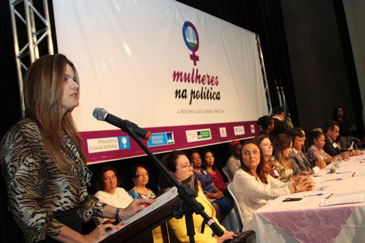 Lançamento da cartilha Mais Mulheres na Política