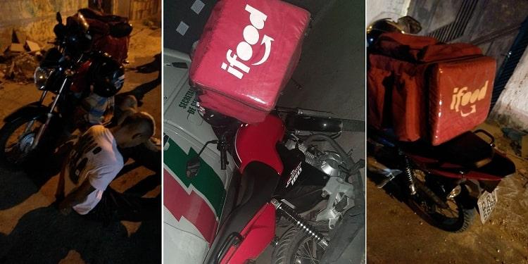 Polícia prende falsos entregadores com arma de fogo na zona Leste de Teresina
