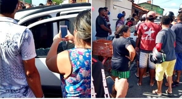 Empresário é assassinado a tiros dentro do carro em Parnaíba