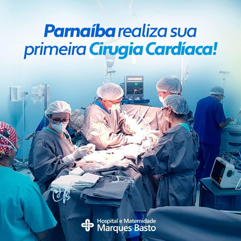 A Força da Notícia: Parnaíba realiza sua primeira cirurgia cardíaca