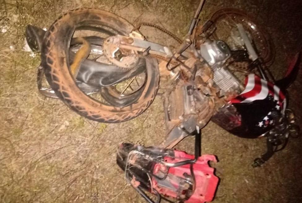 Duas crianças morrem em acidente com moto na BR-222
