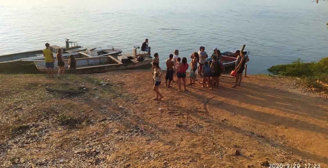 Pai e dois filhos menores morrem afogados no Rio Parnaíba em União