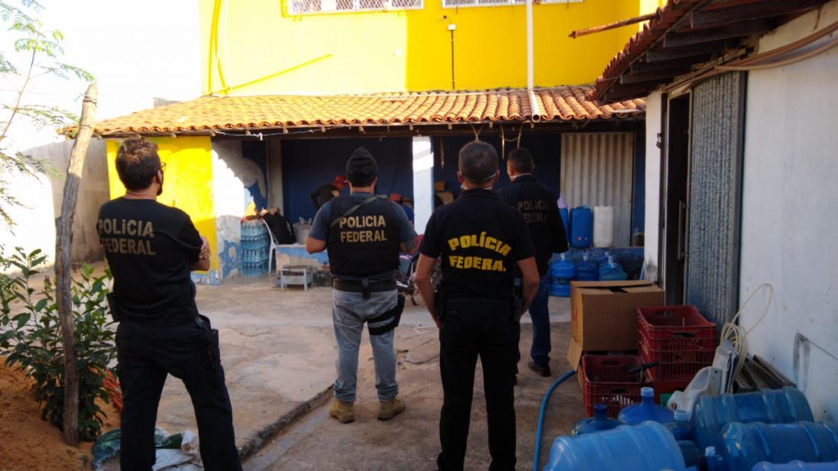 Polícia Federal realiza operação de combate ao contrabando de cigarros no Norte do Piauí