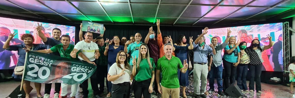 PSC lança a campanha oficial de Gessy Fonseca no Sesc Ilhotas