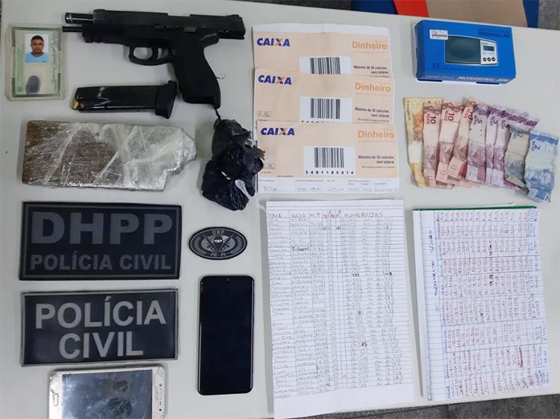 Polícia prende membro do PCC em Teresina suspeito de matar ex-lutador no Dirceu