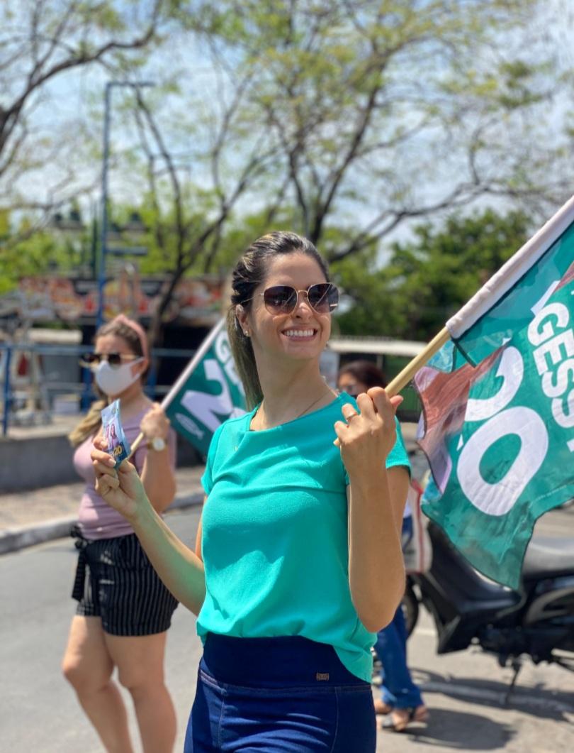 Gessy Fonseca garante retomada da economia e segurança em bairros de Teresina