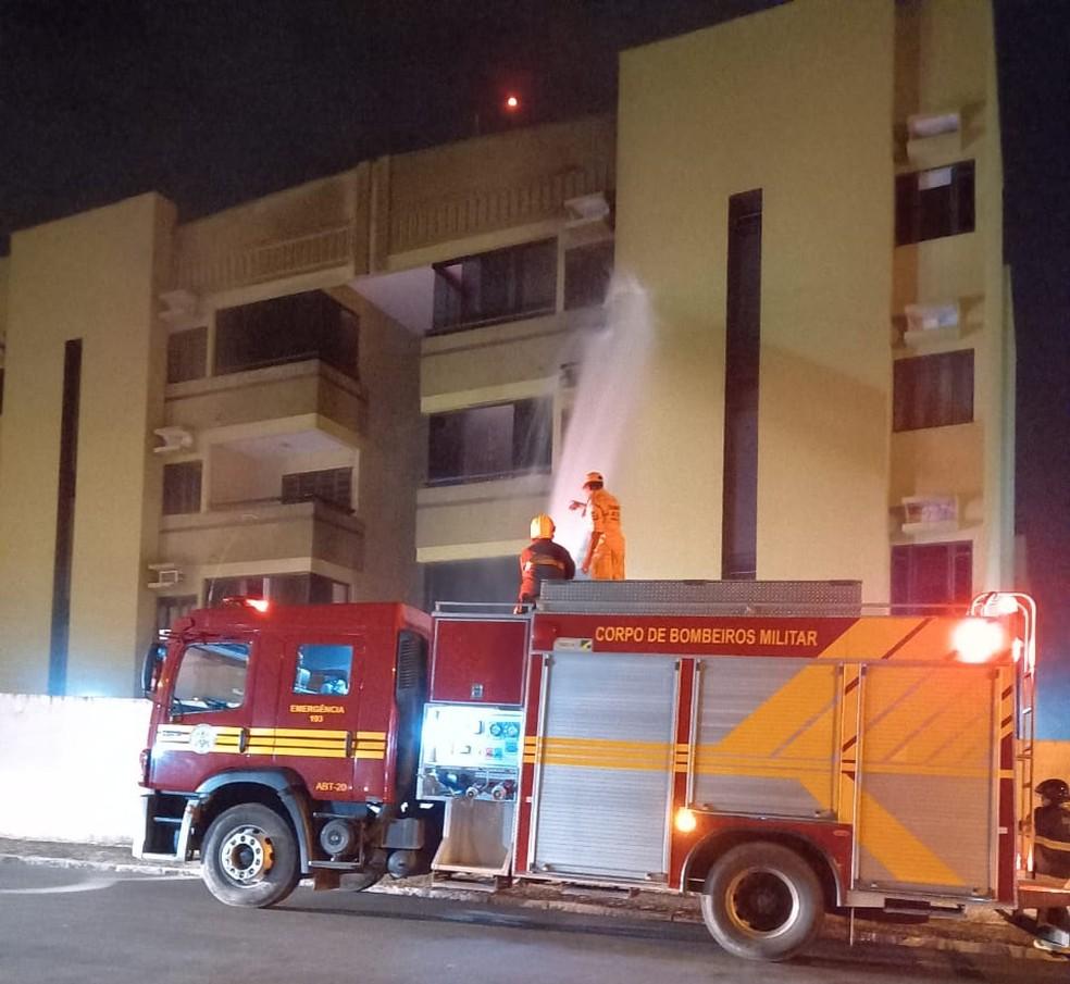 Apartamento é atingido por incêndio na zona leste de Teresina
